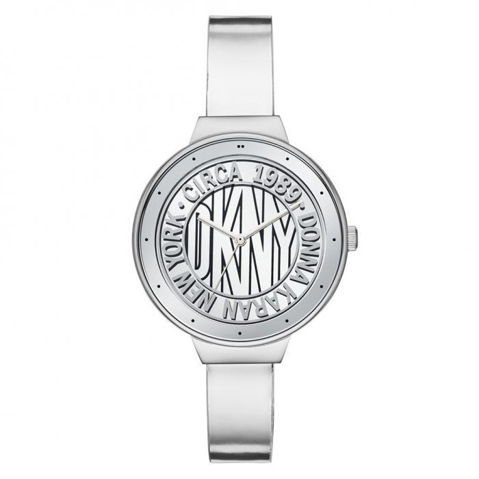 SKU-41405 / DKNY Astoria Silver Stainless Steel Bracelet
