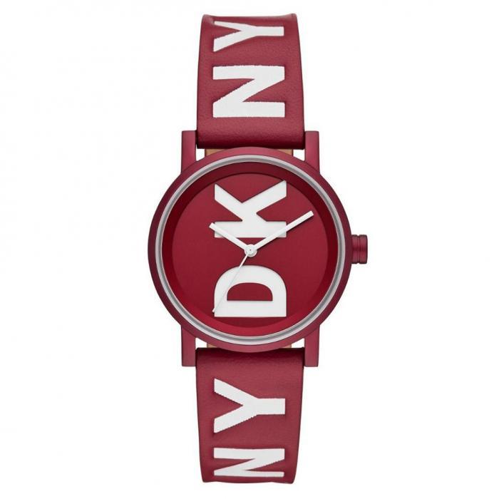 SKU-41397 / DKNY Soho Red Leather Strap
