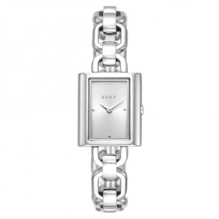 DKNY Uptown Silver Stainless Steel Bracelet