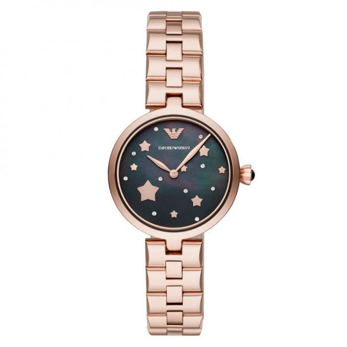 SKU-41513 / EMPORIO ARMANI Rose Gold Stainless Steel Bracelet
