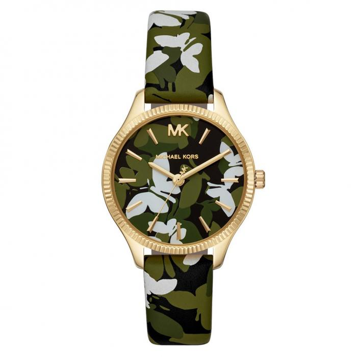 MICHAEL KORS Lexington Multicolor Leather Strap