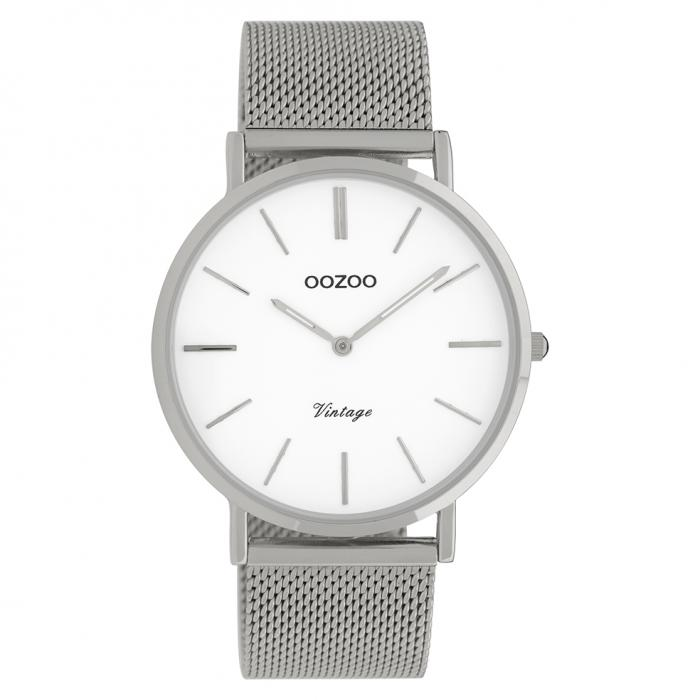 SKU-41936 / OOZOO Vintage Silver Metallic Bracelet
