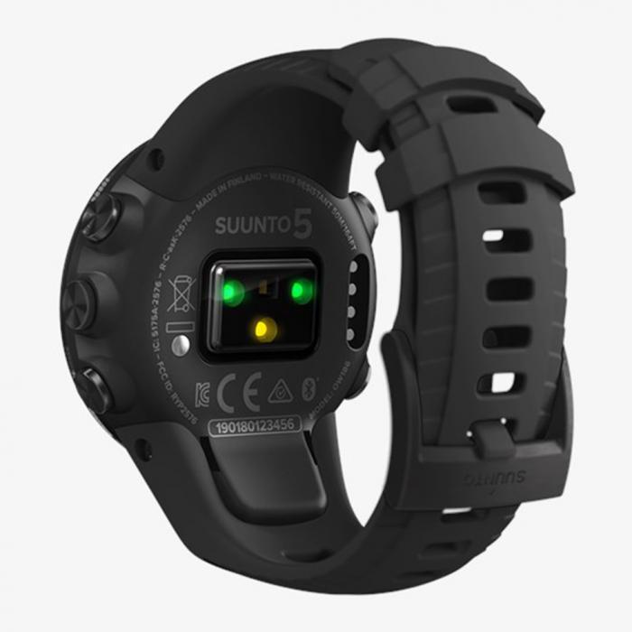 SKU-41895 / SUUNTO 5 All Black Silicone Strap