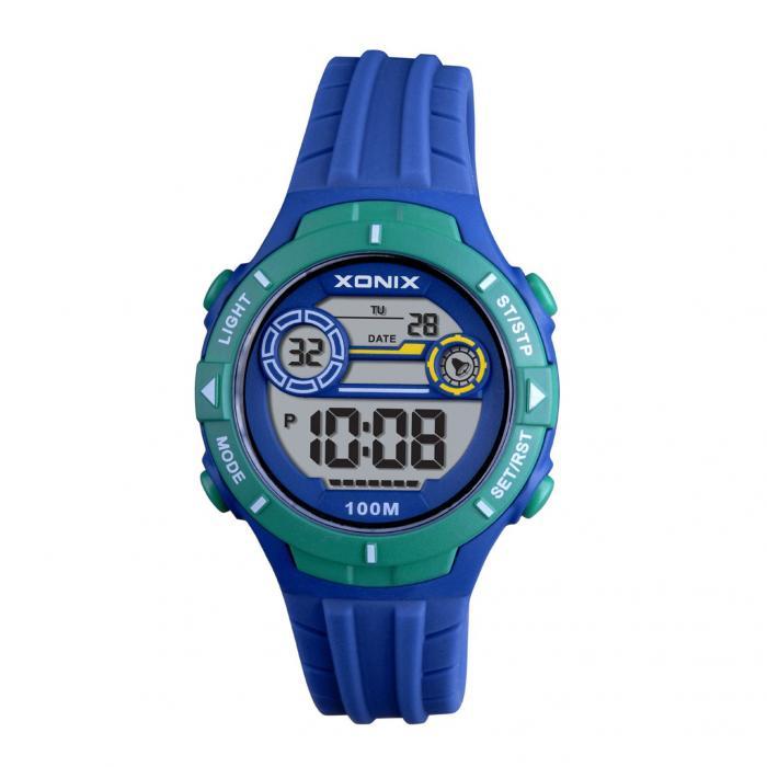 SKU-41816 / XONIX Chronograph Blue Silicone Strap