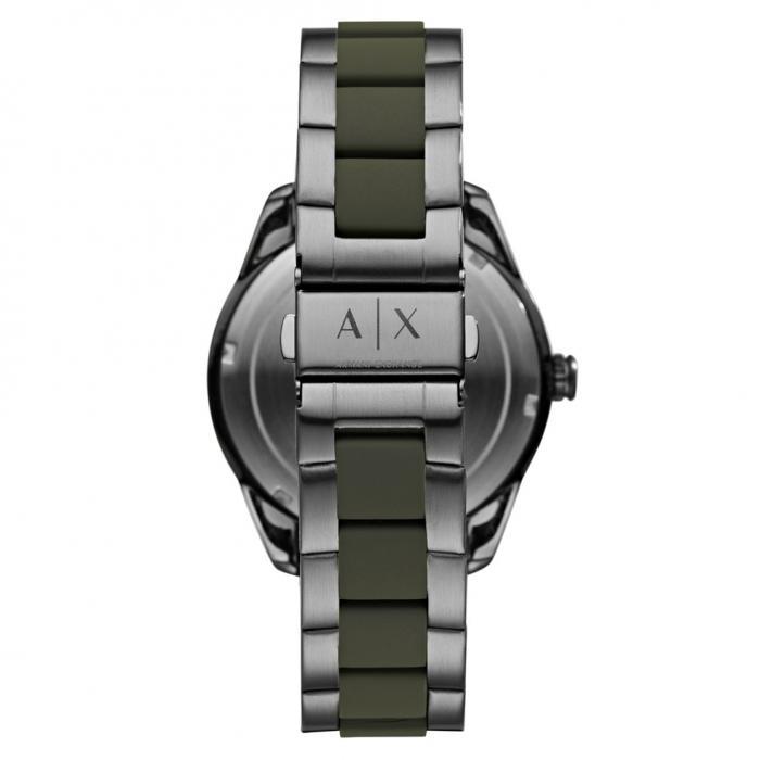 SKU-42216 / ARMANI EXCHANGE Two Tone Stainless Steel Bracelet