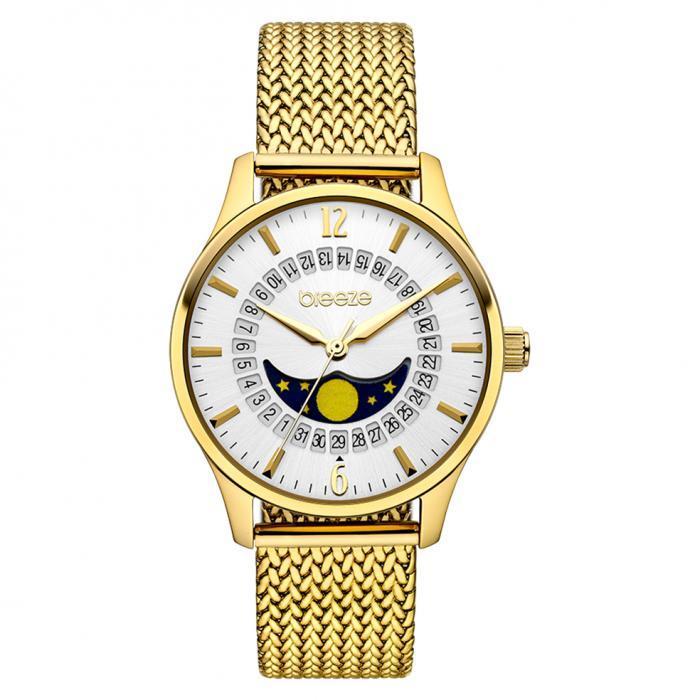 SKU-42259 / BREEZE Lunette Gold Stainless Steel Bracelet