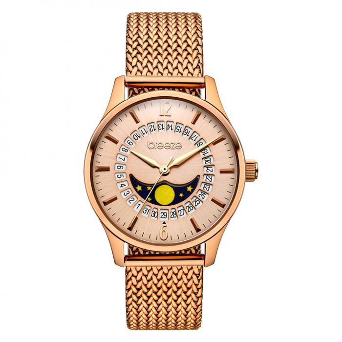 SKU-42260 / BREEZE Lunette Rose Gold Stainless Steel Bracelet