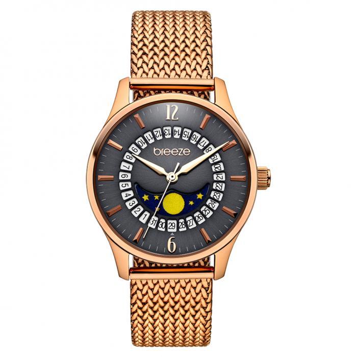 SKU-42261 / BREEZE Lunette Rose Gold Stainless Steel Bracelet