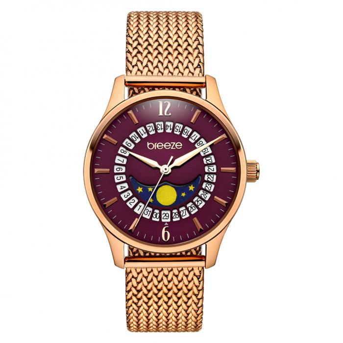 SKU-42262 / BREEZE Lunette Rose Gold Stainless Steel Bracelet