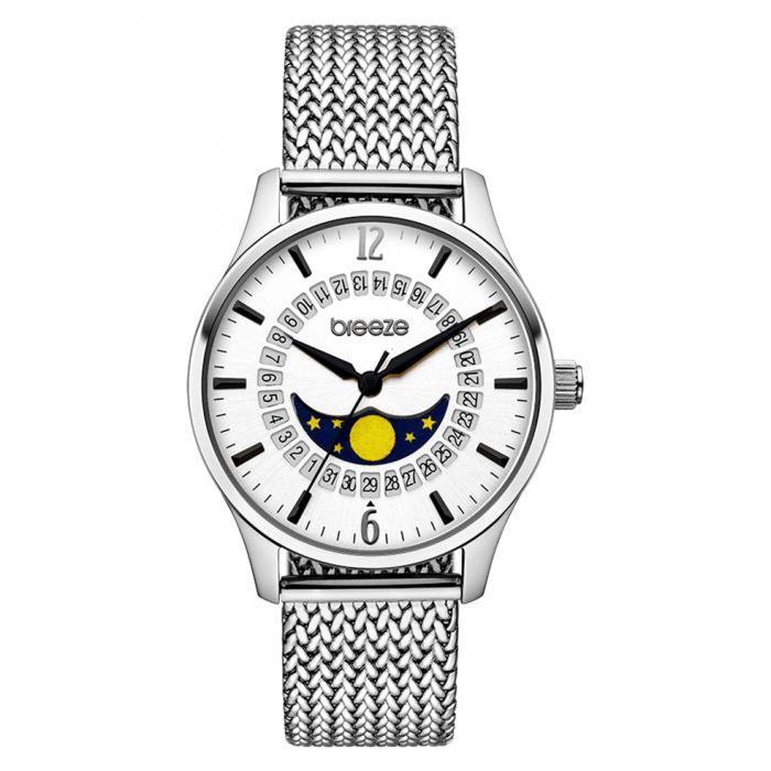 SKU-42263 / BREEZE Lunette Silver Stainless Steel Bracelet