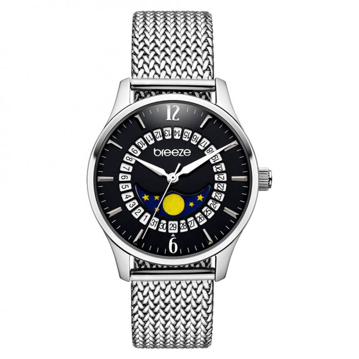 SKU-42264 / BREEZE Lunette Silver Stainless Steel Bracelet
