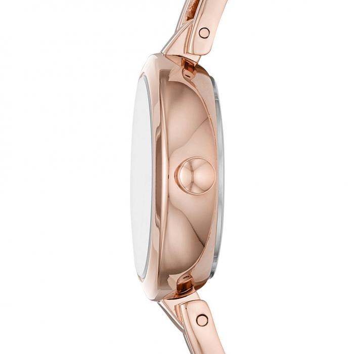 DKNY Crosswalk Rose Gold Stainless Steel Bracelet