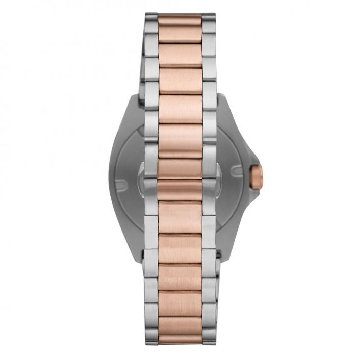 EMPORIO ARΜΑΝΙ Two Tone Stainless Steel Bracelet