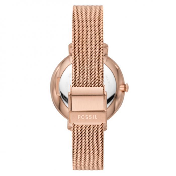 FOSSIL Jacqueline Crystals Rose Gold Stainless Steel Bracelet