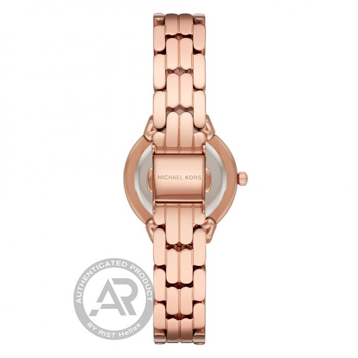 MICHAEL KORS Allie Crystals Rose Gold Stainless Steel Bracelet
