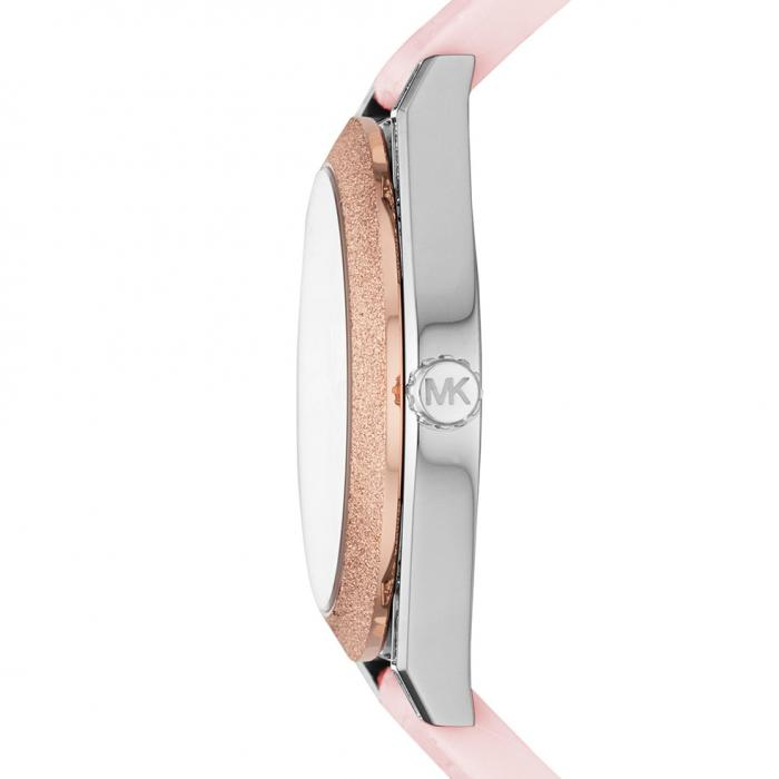 SKU-42464 / MICHAEL KORS Channing Crystals Pink Silicone Strap