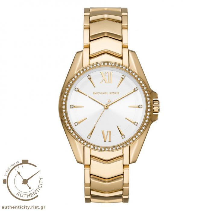 SKU-42461 / MICHAEL KORS Whitney Crystals Gold Stainless Steel Bracelet