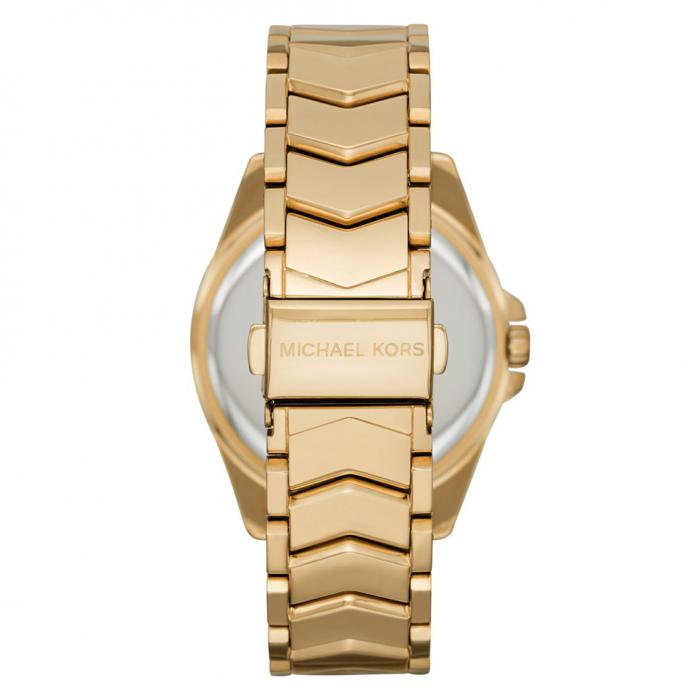 MICHAEL KORS Whitney Crystals Gold Stainless Steel Bracelet