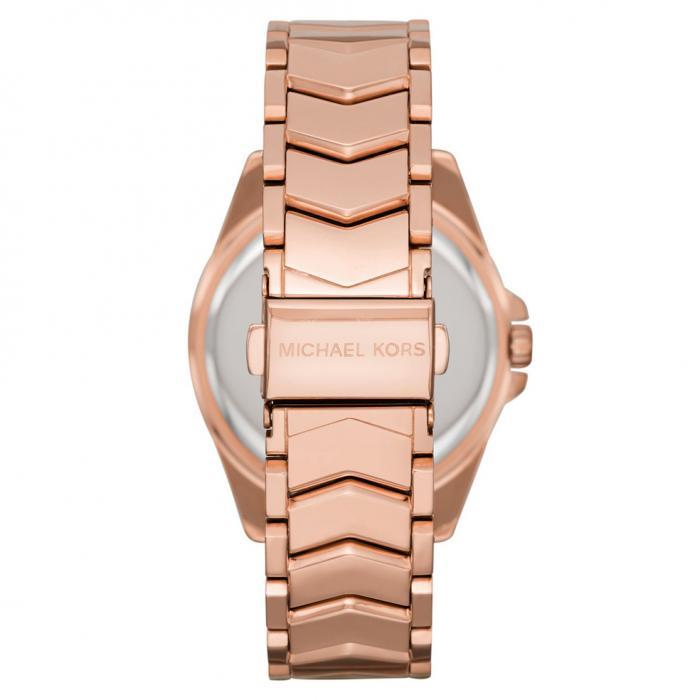 MICHAEL KORS Whitney Crystals Rose Gold Stainless Steel Bracelet