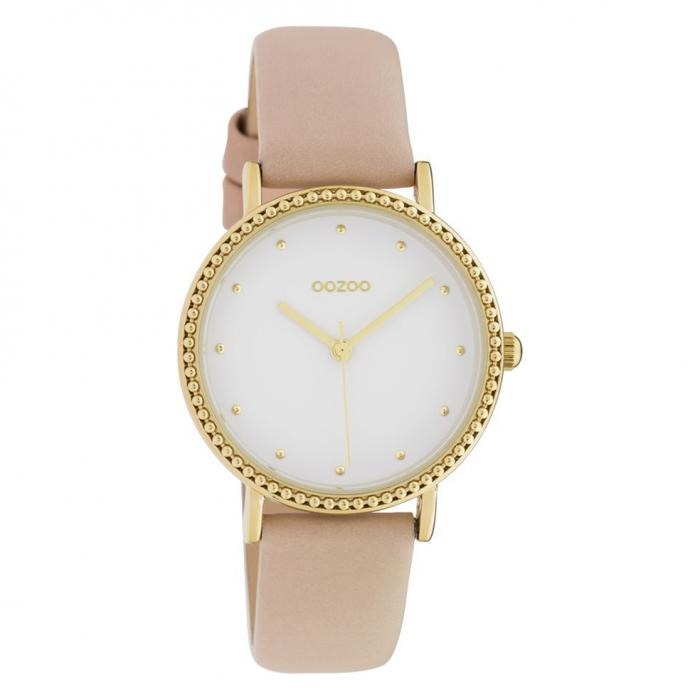 SKU-42440 / OOZOO Timepieces Pink Leather Strap