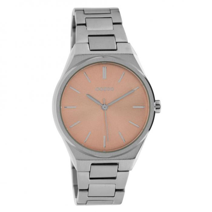 SKU-42428 / OOZOO Timepieces Silver Metallic Bracelet