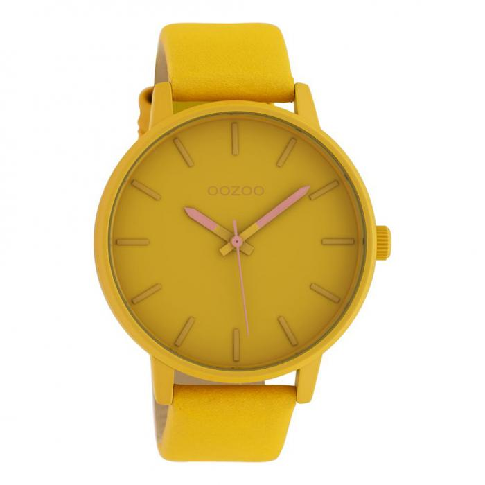 SKU-42623 / OOZOO Timepieces Yellow Leather Strap