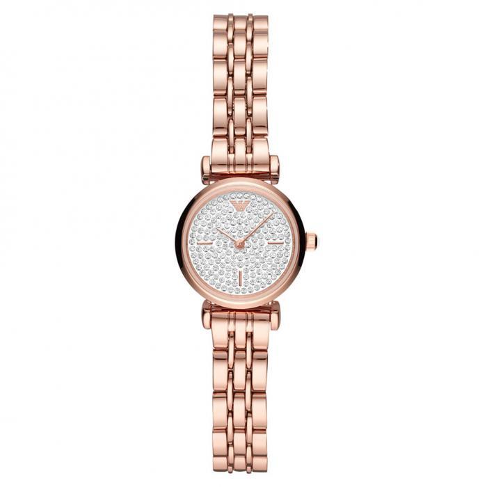 SKU-43579 / EMPORIO ARΜΑΝΙ Gianni T-Bar Rose Gold Stainless Steel Bracelet