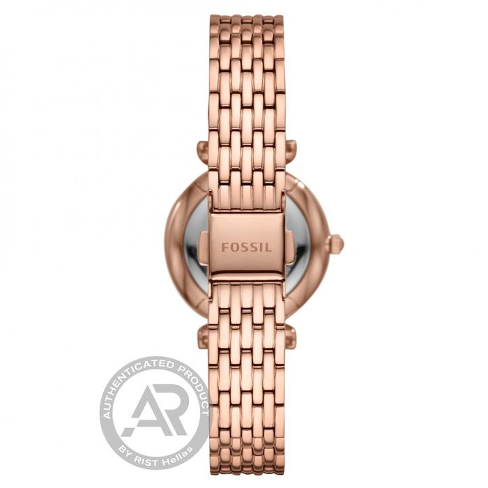 FOSSIL Carlie Mini Rose Gold Stainless Steel Bracelet