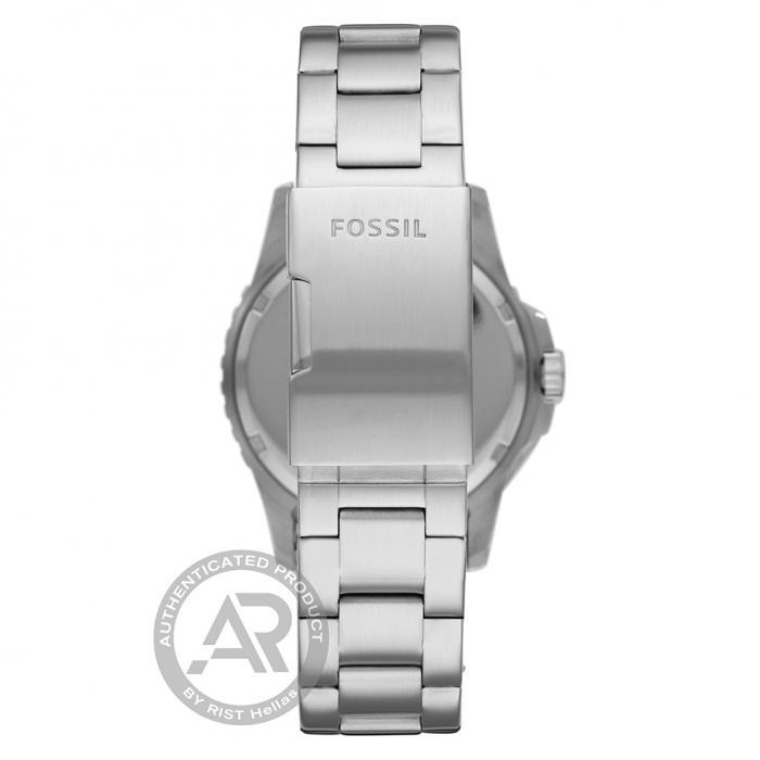 FOSSIL FB01 Silver Stainless Steel Bracelet