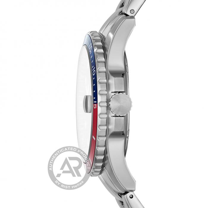 SKU-43668 / FOSSIL FB01 Silver Stainless Steel Bracelet