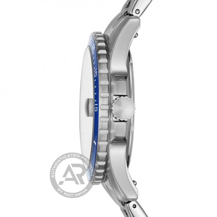 SKU-43683 / FOSSIL FB01 Silver Stainless Steel Bracelet