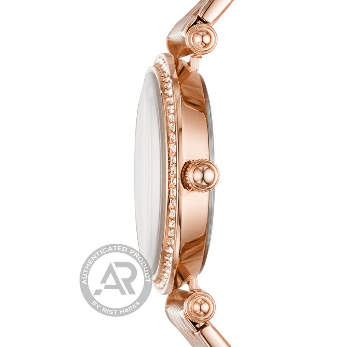 FOSSIL Lyric Rose Gold Stainless Steel Bracelet
