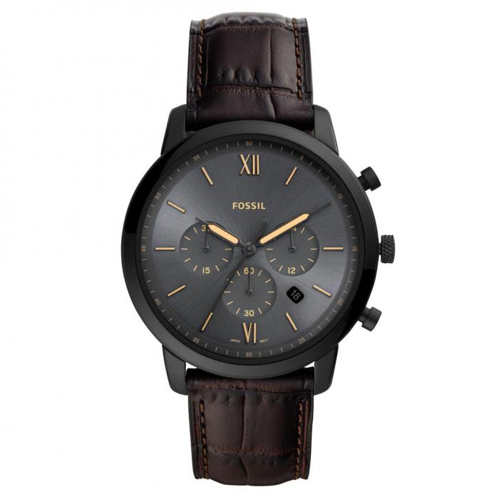 SKU-43131 / FOSSIL Neutra Chronograph Brown Leather Strap