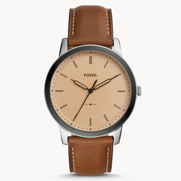 SKU-43662 / FOSSIL The Minimalist Brown Leather Strap