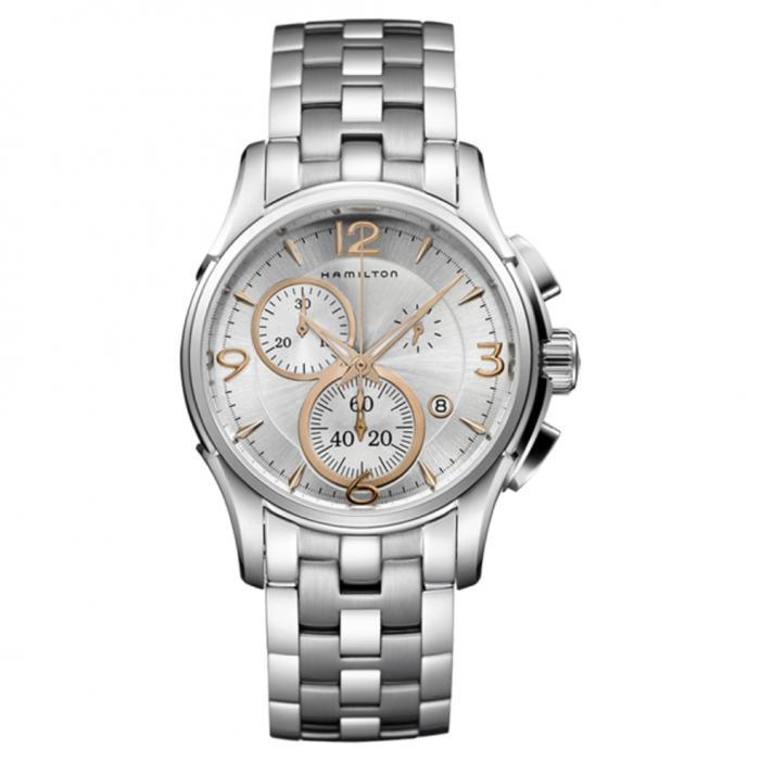 SKU-43522 / HAMILTON Jazzmaster Chronograph Stainless Steel Bracelet