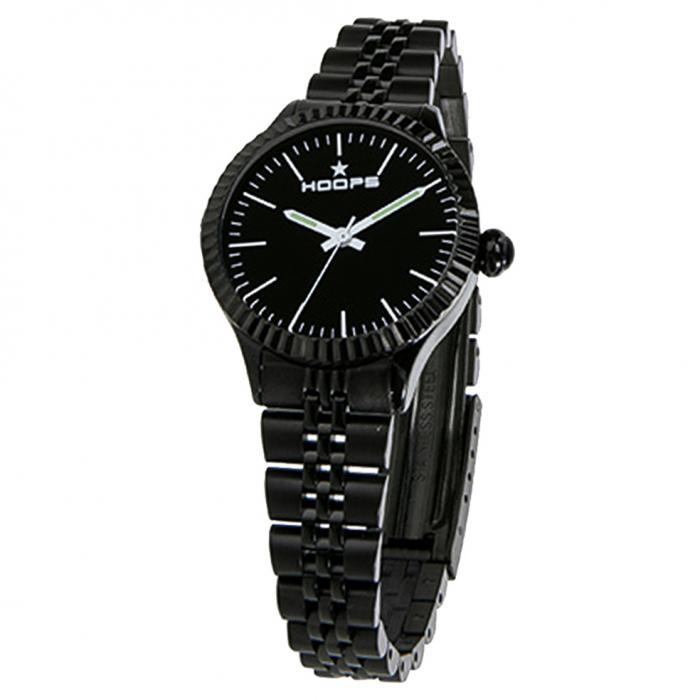 SKU-43449 / HOOPS Luxury Black Bracelet