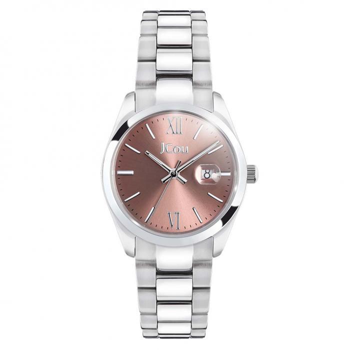 SKU-43637 / JCOU Elegance Petit Silver Stainless Steel Bracelet