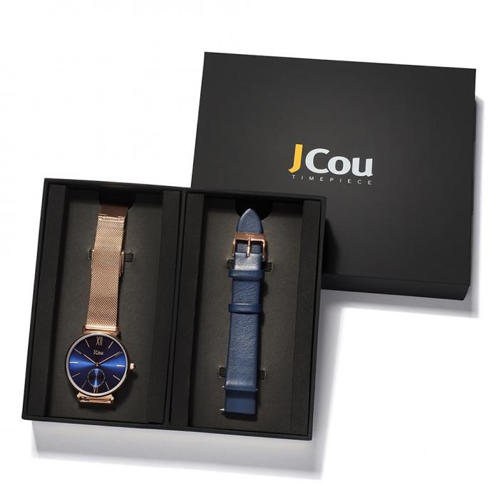 SKU-43625 / JCOU Grace Gift Box Rose Gold Stainless Steel Bracelet Gift Set