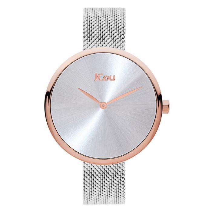 SKU-43652 / JCOU Luna Silver Stainless Steel Bracelet