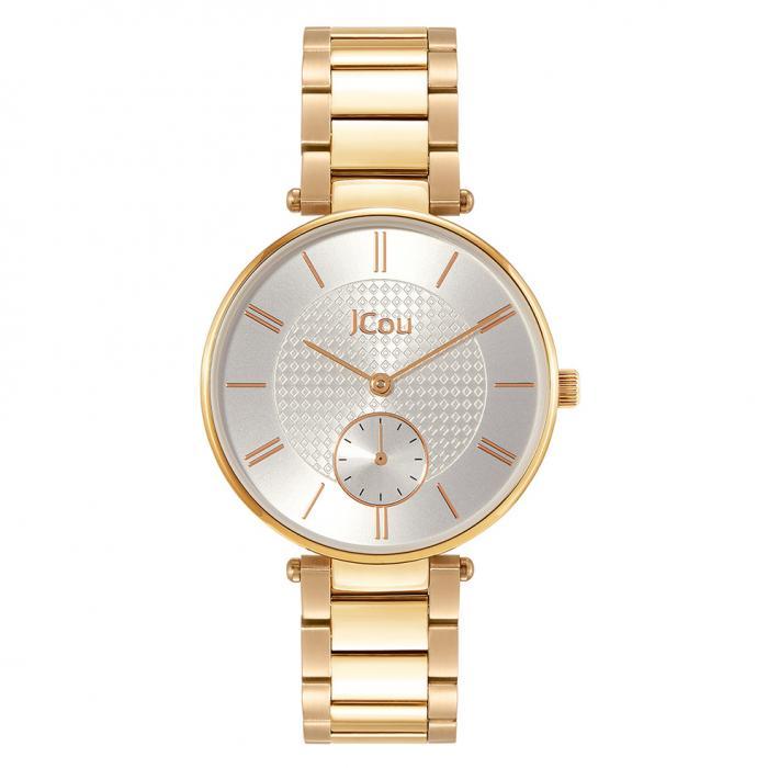 SKU-43643 / JCOU Majesty II Gold Stainless Steel Bracelet