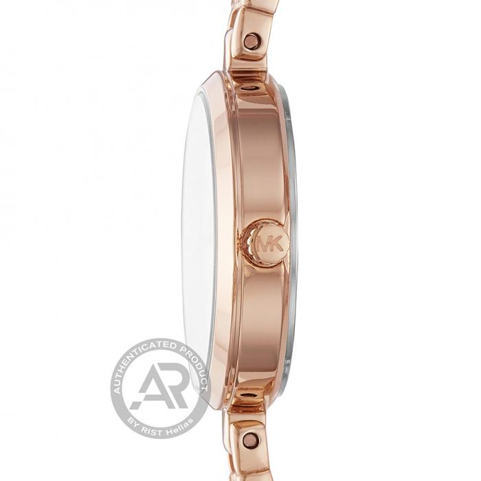 SKU-43690 / MICHAEL KORS Jaryn Mercer Rose Gold Stainless Steel Bracelet