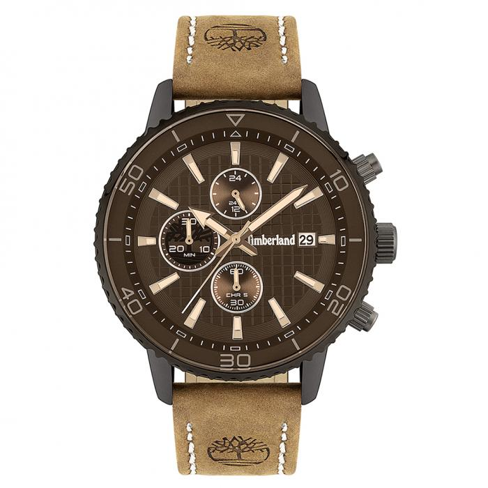 SKU-43671 / TIMBERLAND Woodworth Brown Leather Strap