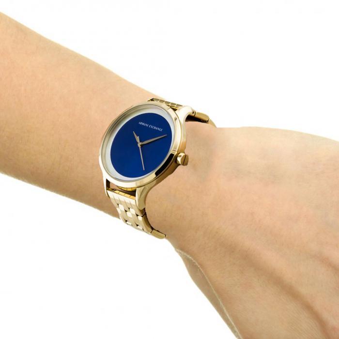 ARMANI EXCHANGE Harper Gold Stainless Steel Bracelet