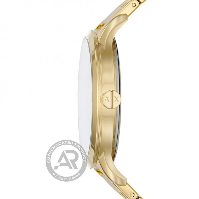 SKU-44415 / ARMANI EXCHANGE Harper Gold Stainless Steel Bracelet