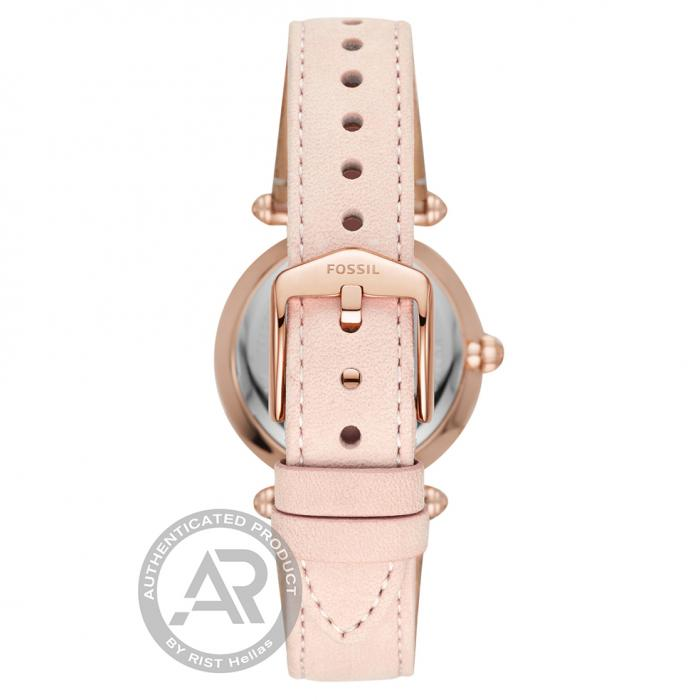 FOSSIL Lyric Pink Leather Strap