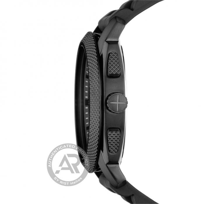 SKU-44422 / FOSSIL Machine Black Silicone Strap