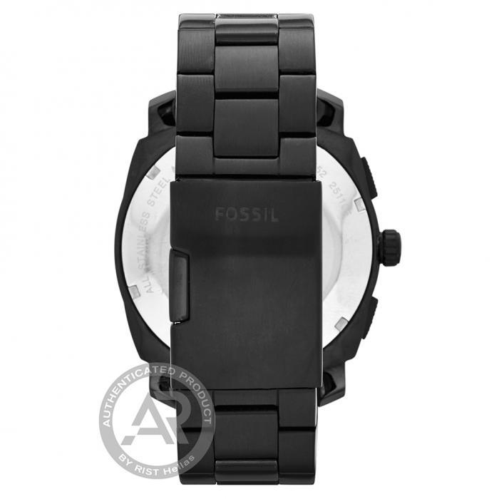 SKU-44423 / FOSSIL Machine Black Stainless Steel Bracelet