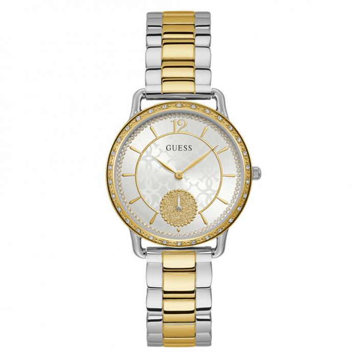 SKU-44377 / GUESS Crystals Two Tone Stainless Steel Bracelet