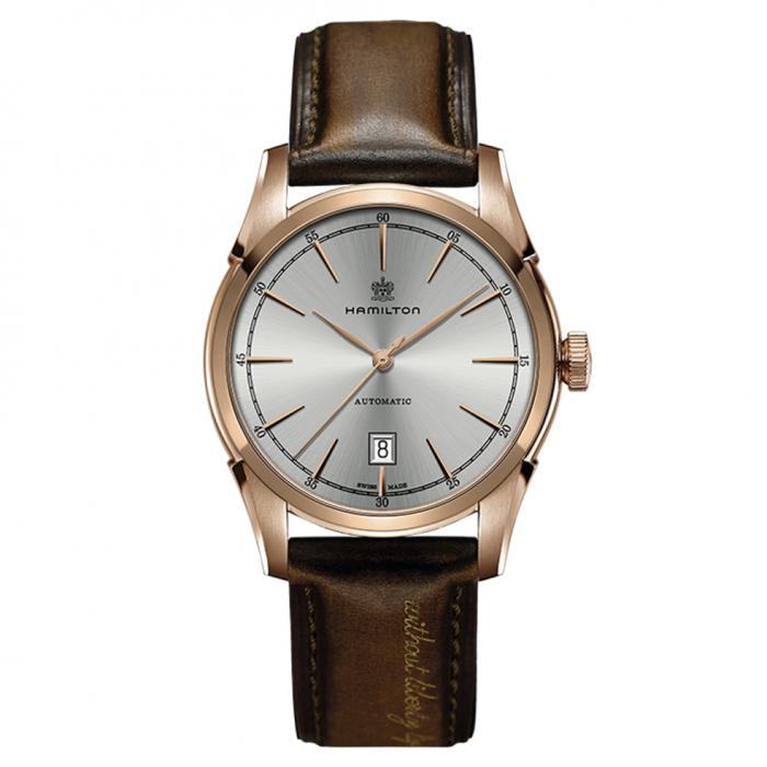 SKU-44512 / HAMILTON American Classic Spirit Of Liberty Automatic Brown Leather Strap