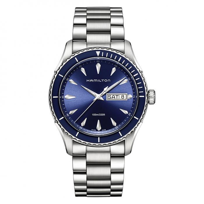SKU-44941 / HAMILTON Jazzmaster Seaview Day Date Stainless Steel Bracelet